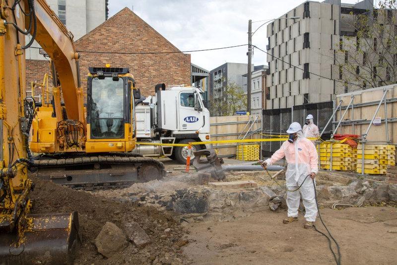 Corkman Pub Asbestos Removal